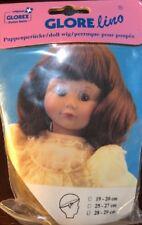 NEW Glorex Glorelino 28-29cm 11-11.5 Inches Blonde W/ Bangs Doll Wig Switzerland