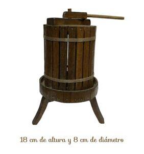 Prensa de vino en miniatura Belén Napolitano atrezzo santon