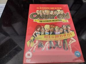 the ultimate collection. all 30 fantastic carry on films. comedy at its best