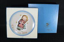 1979 Schmid Christmas Collector Plate Mib Starlight Angel Sister Berta Hummel