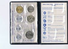 1979 Bank of Israel Official Uncirculated Set - 7 Coins Type I (English)