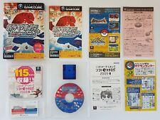 RARE! Nintendo GameCube Pokemon Colosseum + Memory Card & 115 Demo Disc Japan JP