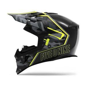 509 Tactical Helmet Black Camo