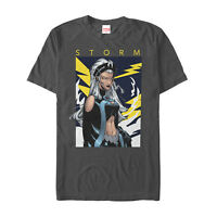 Marvel X-Men Storm Lightning Mens Graphic T Shirt