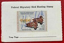 1960 US Washington Hunting Duck License Stamps SC#RW27