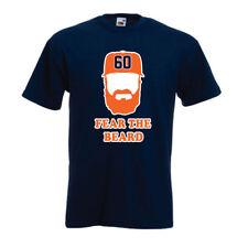 "SALE T SHIRT Dallas Keuchel Houston Astros ""Fear the Beard"" ADULT SMALL"