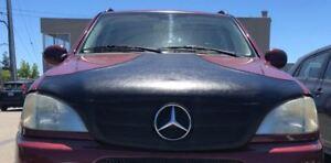 Colgan T-Style Hood Bra Protector Fits Mercedes Benz 1998-2003 ML320