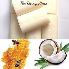 Soap Creamy Coconut & Honey All Natural 8 X 100g Bars Bulk - Tropical Soaps -