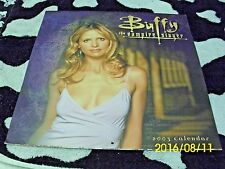 Buffy the Vampire Slayer 2003 Calendar Collectible Condition Angel Spike Giles