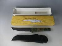 Vintage Japan Made TANTO Ninjato Tenchu Knife Rare Camouflage Model (See Video)