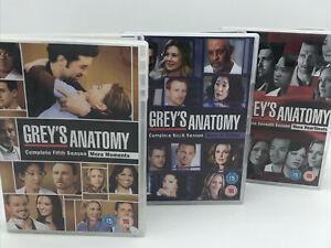 Grey's Anatomy Seasons 5, 6, 7 DVD Box sets 19 Discs