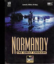 Normandy The Great Crusade Pc Cd-Rom New in Original sealed Package
