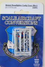 Bristol Beaufighter Landing Gear for 1/32nd Scale Revell Model SAC 32091