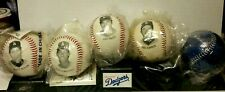 1994 LA Dodgers Photo Ball Set with Display Stand by Chevron - New Sealed