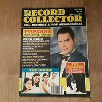 RECORD COLLECTOR MAGAZINE ~ JULY 1999 ISSUE: 239 FREDDIE MERCURY CORRS THE DOORS