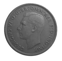 1937 ONE PENNY OF GEORGE VI.     #P26