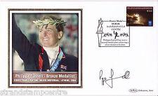 2004 Athens Olympics - Benham GB Medal Winners Silk - Signed PHILIPPA FUNNELL