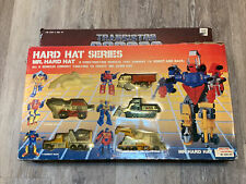 1985 Four Star Transistor Robots Hard Hat Series gobots transformers taiwan Box