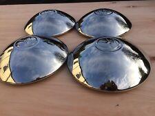 vw beetle Splitscreen wheel hubcaps stainless Type2 Early Bay Wide 5. X4