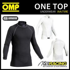 SALE! IAA/739E OMP ONE LONG SLEEVE TOP FIA APPROVED FIREPROOF RACE UNDERWEAR
