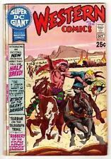 SUPER DC GIANT #S-15 (10/70)--GD+/68 pgs; Western Special; Kane-art, Kubert-cvr^