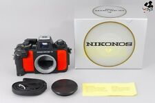【NEAR MINT IN BOX】Nikon Nikonos V 35mm Point&Shoot Orange Body W/Box From Japan