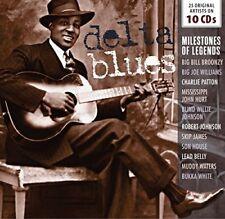 Delta Blues - Milestones of a Legends [CD]