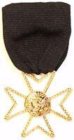 Masonic Knights Templar Knight of Malta Jewel