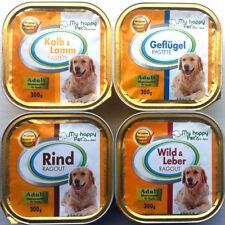 81 x 300g Hundefutter Nassfutter 4 Sorten Pastete und Ragout *versandfrei*