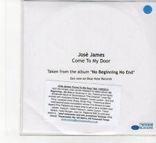 (FB829) Jose James, Come To My Door - 2013 DJ CD