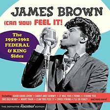 James Brown - (Can You) Feel It-The 1959-62 Federal & King Sides [New CD] Spain