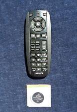 SIRIUS SATELLITE RADIO REMOTE CONTROL RM36GR01 ALL BLACK + FRESH CR2032 ALL GOOD