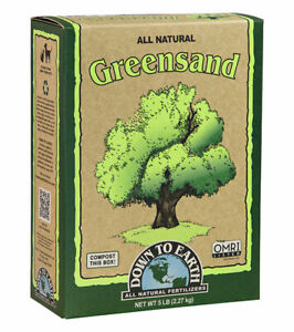 Down to Earth - Greensand 5 LB - All Natural Organic Fertilizers