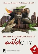 David Attenborough's Wild City NEW R4 DVD