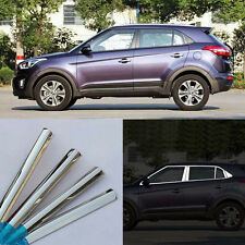 20pcs Stainless Steel Chrome Full Window Frame Sill Cover Trim For Hyundai IX25