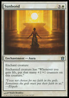 SUNBOND NM mtg Born of the Gods White - Enchantment Aura Unc