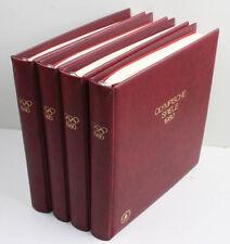 Olympische Spiele 1980 Sammlung in 4 Lindner-T-Alben tolle Belege hoher Abopreis