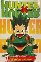 Hunter X Hunter Vol 1 Manga Viz OOP RARE MINT 9th print