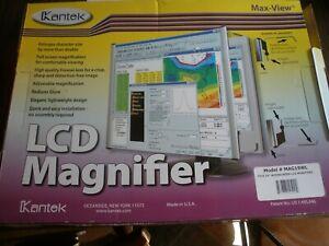"""Kantek MAG22WL LCD Monitor Magnifier Filter Fits 19"""" Widescreen Monitors MAG19WL"""