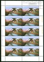 Bund 2171 II KB ** postfrisch mit Zudruck NAPOSTA Kleinbogen Tag der Briefmarke