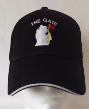 Baseball Cap Hat Oakland Michigan The Gate Golf Course North End Black Sm Med