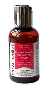 Priva Shave Treatment Prevent Ingrown Hair Removal Remove Razor Rash Bikini