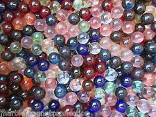 Marbles Bulk Marble King 2 LBS Of 9/16 Inch Transparent Mix With Free Shipping