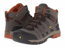 New Men's KEEN Utility Omaha Mid Waterproof Steel Toe Work Boots - 1014611