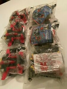 2002 McDonald's Transformers Robots Happy Meal Toy Lot (6) New Sealed