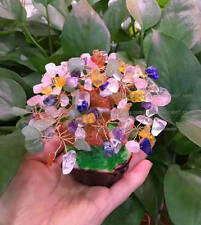 AAA+ Lucky Tree!!! Natural Multi-color Quartz Crystal Gem Tree