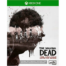 The Walking Dead Telltale Definitive Series XBOX ONE (All 4 Seasons & DLC) NEW