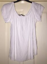 Atmosphere White Soft Gypsy Top, Size 16 - Lovely!