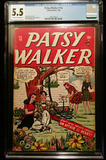 1948 Timely Comics Patsy Walker #14 CGC 5.5 Off White to White Pages