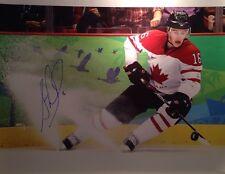 Jonathan Toews Canada Signed Olympics Sochi 16x20 Blackhawks